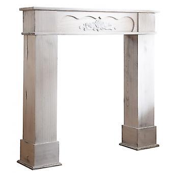 Rebecca Möbel dekorative Rahmen weiß Holz Classic 99x104x21