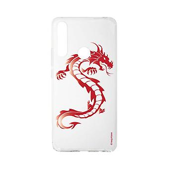 Hull For Huawei P Smart Z Soft Red Dragon