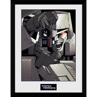 Transformers Megatron Joke Collector Print