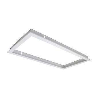 White Recessed Frame For 60×30 Led Panel