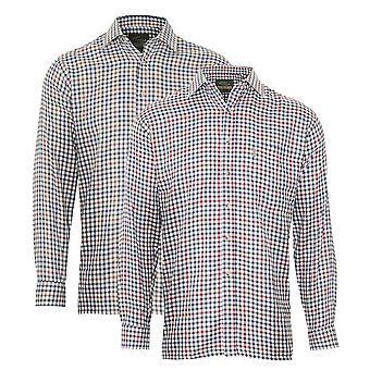 Champion de Mens York Casual chemise (Pack de 2)