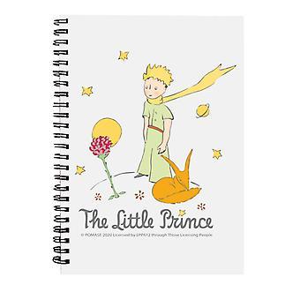 Den lille prins Rose & Fox Spiral Notebook