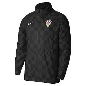 2020-2021 Kroatien Allweather Lite Jacka (Svart)