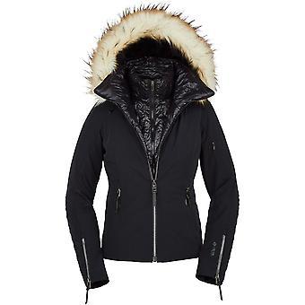 Spyder PINNACLE Dames Gore-Tex PrimaLoft Ski Veste noir