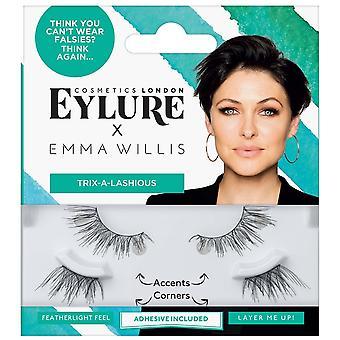 Eylure Emma Willis Eyelashes - Trix-a-lashious (adhesive Included)