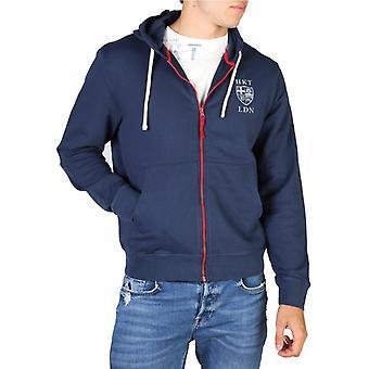Hackett hm580671 mænd's zip fastgørelse sweatshirt
