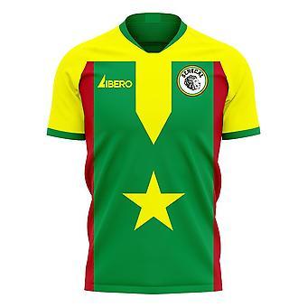 Senegal 2020-2021 Home Concept Football Kit (Libero)