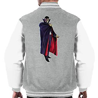 Dracula Cape Pose Men's Varsity Jacket