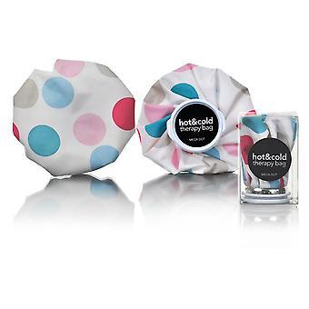 Mega polka dot print re-brugbar Ice bag/chill Pack