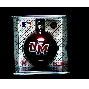 Umass Minutemen NCAA Ornament