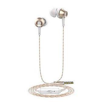 Langsdom M299 Metal 3.5mm Jack In-ear Earphone Headphone with Mic