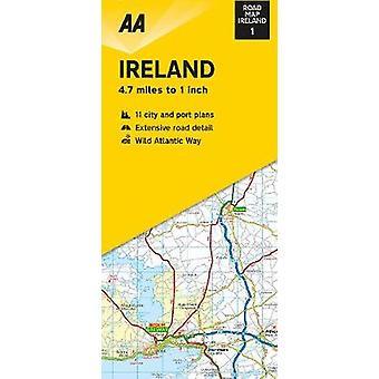Streetmap Ireland 1:300 000