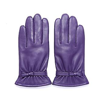 Autumn Winter Warm Velvet Lined Gloves