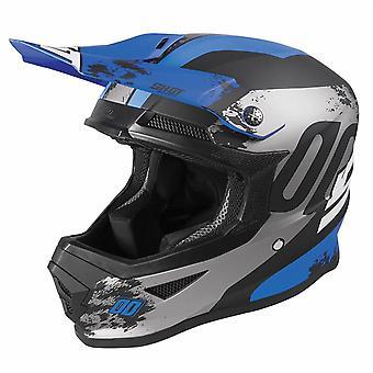 Shot Furious 2020 Motocross MX Helmet Adult Shadow Matt Blue ACU Approuvé