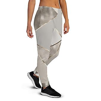 Women's Silver Gold Joggers