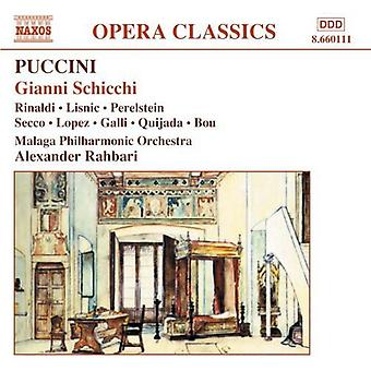 G. Puccini - Puccini: Gianni Scicchi [CD] USA import
