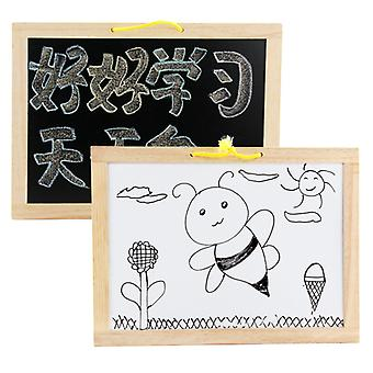 Hanging double-sided drawing board