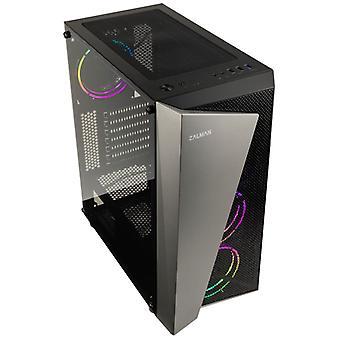 Zalman S4 Plus RGB Mid-Tower - Black Window