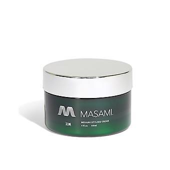 Mekabu And Aloevera-non-sticky Hair Styling Cream
