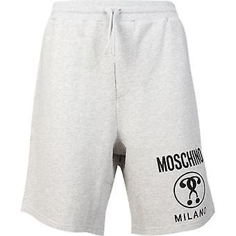 Moschino Couture Moschino Milano Logo Jersey Shorts