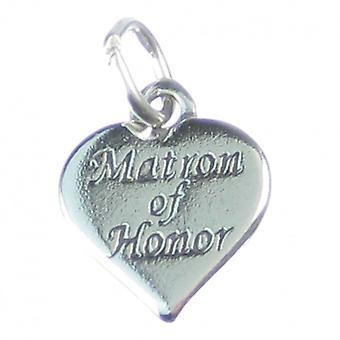 Matron Of Honor Sterling Silver Charm .925 X 1 Weddings Wedding Charms - 4148