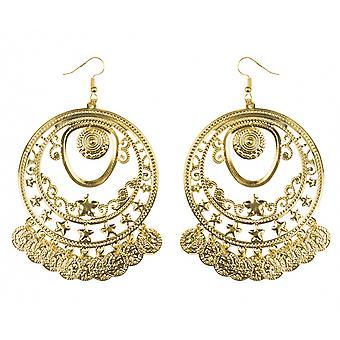 Earrings Belly Dance Ladies Gold