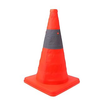 Folding Road Safety Warning Sign, Traffic Cone, Reflective Tape