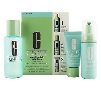 Clinique Anti-Blemish Solutions 3-Step Skin Care System 3 Pz für Frauen