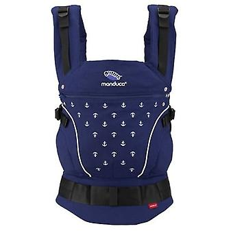 Manduca Baby Carrier Blue Anchors Limited Edition