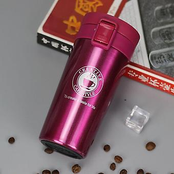 Stainless Steel Premium Travel Coffee Thermos, Tumbler Cups