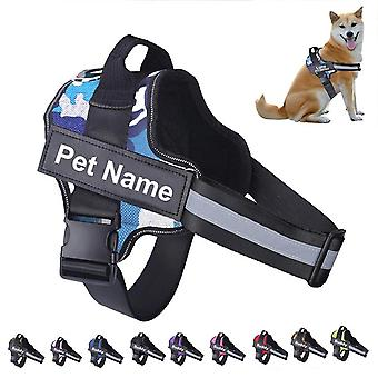 Reflective Breathable Adjustable Pet Harness