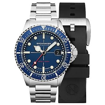 Spinnaker tesei mille metrl watch for Analog Man's Automatic with Stainless Steel Bracelet SP-5090-22