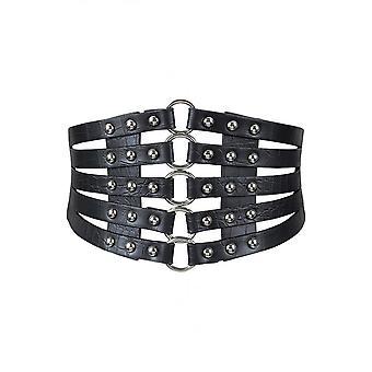 Attitude Clothing O-Ring Elasticated Cage Belt
