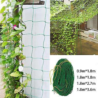 Have Net Vine Plant Klatring Net Nylon Net 0,9x1.8m/1.8x1.8m/1.8x2.7m/1.8x3.6m For Home Garden Decor