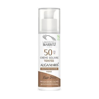 Golden Color Facial Cream Spf50 50 ml of cream