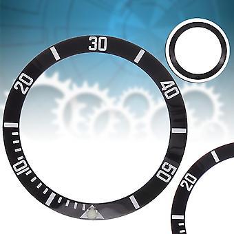 Ceramic Bezel Insert Replacement Accessories For Submariner Watch 40mm Case