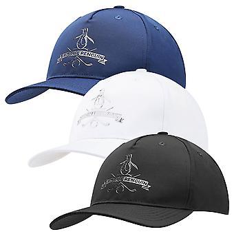 Original Penguin Mens 2021 Metallic Pete Moisture Wicking Golf Baseball Cap