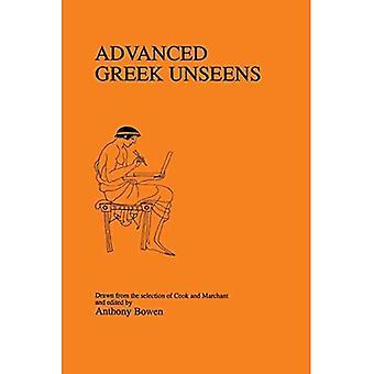 Advanced Greek Unseens