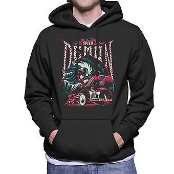 Disney Cruella De Vil Speed Demon Men's Hooded Sweatshirt