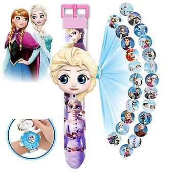 Frozen 2 Watch 3d Projection Watches
