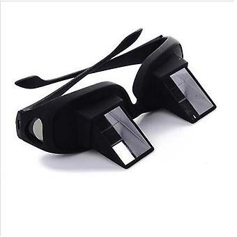 Verbazingwekkende luie periscoop horizontale lezen tv zitten uitzicht bril op bed liggen bed prisma bril luie bril slimme bril