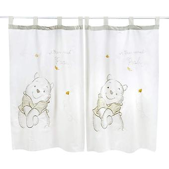 Gray Winnie The Pooh 2 Curtains