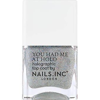 Nails inc Nail Polish - Leave A Little Sparkle 14ml (12829)