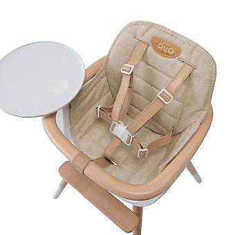 Coussin de siège pour la chaise haute ovo or - micuna