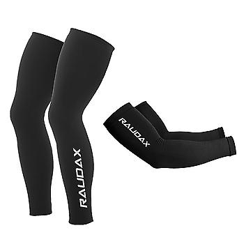 Winter Thermal Fleece Cycling Arm Leg Warmers Cosmic Bike Leg Sleeve Ciclismo