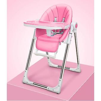 Bärbara, multifunktionella och justerbara hopfällbara barnmatningsstolar