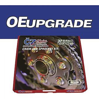 CZアップグレードチェーンとスプロケットキットは、10mmマウントホールでBMW F650GS 09-11に適合します