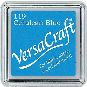 Tsukineko Versacraft Små bläckkuddar - Cerulean Blue