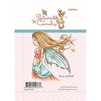 Little Darlings Wings and Wind - Clear Stamps