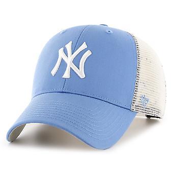 47 Brand Snapback Cap - BRANSON New York Yankees periwinkle